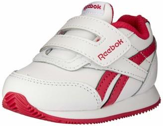 Reebok Royal Cljog 2 KC Sneakers for Girls Multicolour (White/Rugged Rose 000) 9.5 UK (26.5 EU)