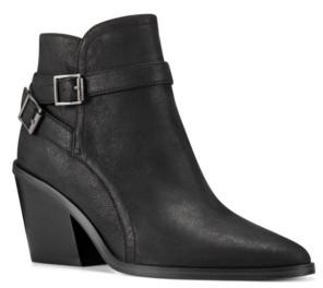 Nine West Women's Scala Western Booties Women's Shoes