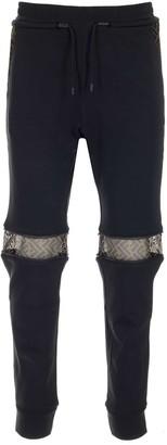 Fendi Zipped Knee Joggers