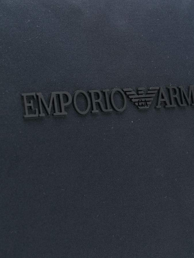 Emporio Armani zipped holdall