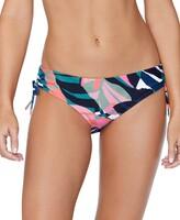 Thumbnail for your product : Raisins Juniors' Crystal Cove Printed Drawstring Bikini Bottoms Women's Swimsuit