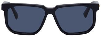 Bottega Veneta Navy Square Sunglasses