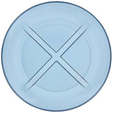 Kosta Boda Bruk Salad Plate - Water Blue