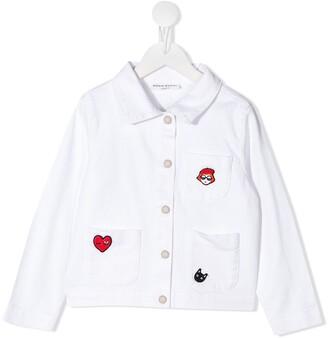 Sonia Rykiel Enfant Applique-Detail Patch Pocket Shirt