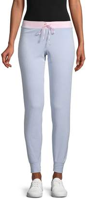 Juicy Couture Colorblock Micro-Terry Sweatpants