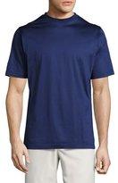 Peter Millar Mercerized Cotton T-Shirt, Navy