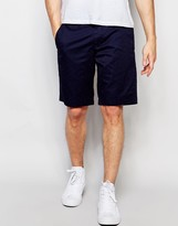 Ted Baker Shorts With Tonal Polka Dot In Slim Fit