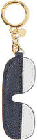 MICHAEL Michael Kors Two-tone leather keychain