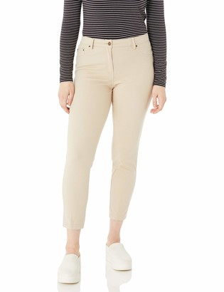 Ruby Rd. Women's Fly Front Stretch Knitted Twill Pant