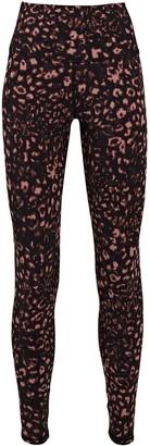 Varley Luna Leopard Print High-Rise Leggings
