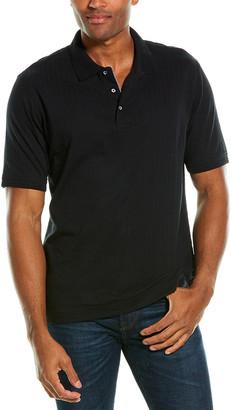 Robert Graham Carbon Polo Shirt