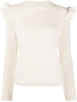 Zimmermann Lady Beetle frill jumper
