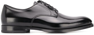 Doucal's Monzu high-shine derby shoes