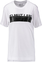 Helmut Lang Printed cotton and modal-blend jersey T-shirt