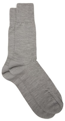Falke No.6 Wool-blend Socks - Grey