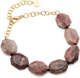 Nest Short Bib Necklace, Quartz