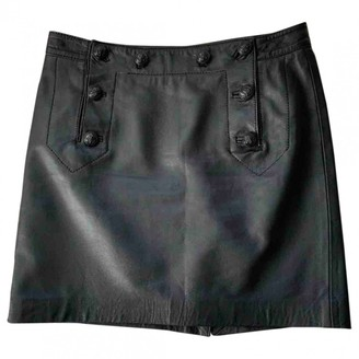 Moschino Cheap & Chic Moschino Cheap And Chic Black Leather Skirt for Women