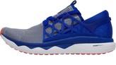 Reebok Mens Floatride Run Flexweave Neutral Running Shoes White/Blue Move/Atomic Red
