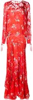 Preen by Thornton Bregazzi floral print maxi dress
