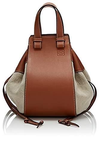 Loewe Women's Hammock Medium Canvas & Leather Bag - Neutral