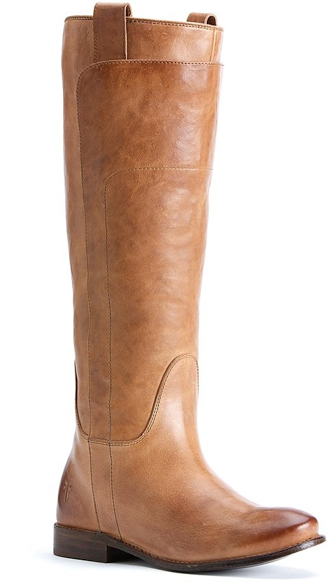Frye Tall Flat Riding Boots - Paige