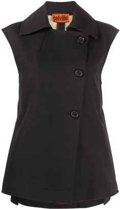 Colville Boxy Fit Side Buttoned Waistcoat
