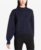 DKNY Side-Zipper Cocoon Sweater