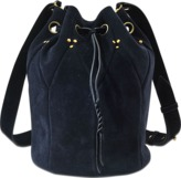 Jerome Dreyfuss Popeye L bag in split suede