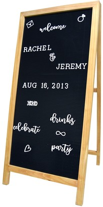 New View Gifts & Accessories Letter Board Easel 189-piece Set