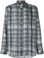 Etro classic plaid shirt