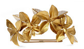 Jennifer Behr Hibiscus Gold-plated Headband - one size