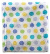 Baby Vision BabyVision® Luvable Friends® Dot Coral Fleece Receiving Blanket in Blue