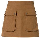 Helmut Lang Patch Pocket Mini Skirt