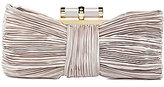 Kate Landry Social Pleated Bow Frame Clutch
