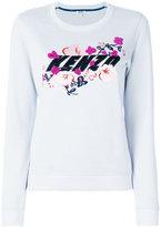 Kenzo x Floral Leaf sweatshirt - women - Cotton - XS
