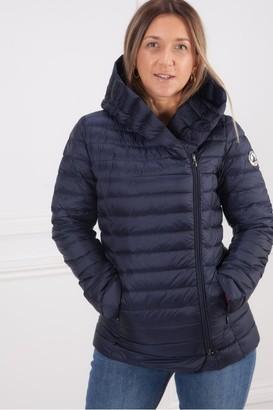 JOTT Melissa Shawl Collar Jacket In Marine Blue - Large