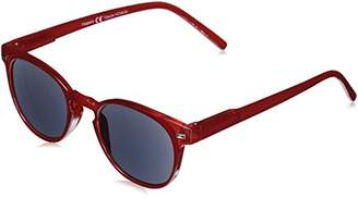 Peepers Unisex-Adult Boho Reading Sunglasses +1.0 2233R100 Round Sunglasses