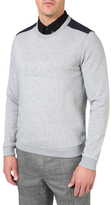J. Lindeberg Bespoken Crew Tech Fleece Top