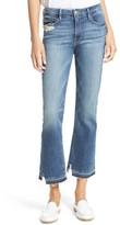 Frame Women's Released Hem Le Crop Mini Boot Jeans