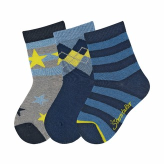 Sterntaler Baby Boys' Sockchen Ringel/Stern Calf Socks