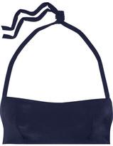 L'Agent by Agent Provocateur Agata Bandeau Bikini Top - Navy