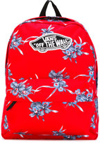 Vans floral-print backpack - unisex - Polyester - One Size