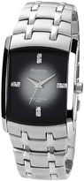 JCPenney Armitron Mens Degrade Gray Rectangular Watch
