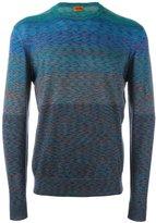Missoni colour block jumper