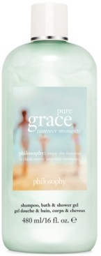 philosophy Pure Grace Summer Moments Shampoo, Bath & Shower Gel, 16-oz.