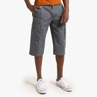 La Redoute Collections Cotton Cargo Shorts