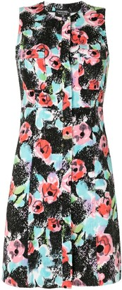 Chanel Pre Owned Floral Straight-Fit Dress