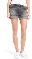Current/Elliott Women's The Boyfriend Cuffed Denim Shorts