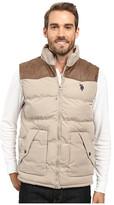 U.S. Polo Assn. Western Yoke Puffer Vest