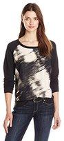 Calvin Klein Jeans Women's Long Sleeve Printed Voyeur Sweatshirt
